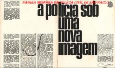"""Folhetim sobre a história do DEGRAN (atual DECAP), assinado pelo então Diretor Celso Telles """"in memorian"""", em maio de 1.973."""