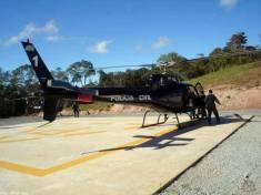 Helicóptero Pelicano 1 do SAT- DEIC.