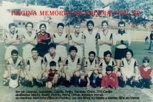 Equipe de futebol da Polícia Civil de Ourinhos/SP, na década de 80.
