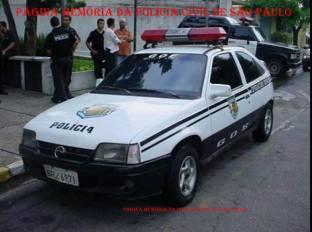 Viatura do GOE- DECAP, na década de 90. (acervo Agente Brinks Antonio Carlos Passador).