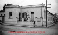 Delegacia de Polícia e Cadeia Pública de Atibaia, em 1.954.