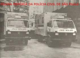 Unidades de identificação moveis, da década de 80.
