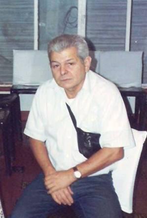 O saudoso Escrivão de Polícia Marcelino Lens, que chefiou várias delegacias na Baixada Santista, completaria 76 anos, hoje 24.06.13. (acervo do filho Agente Telecomunicações Julio Lens Fininho).