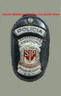 Distintivo de Carcereiro Policial.
