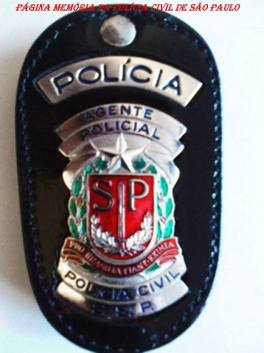 Distintivo de Agente Policial.
