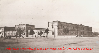 Palácio do Corpo Policial Permanente, no final do século XlX.