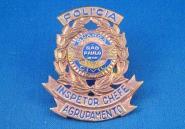 Distintivo de Inspetor Chefe de Agrupamento da extinta Guarda Civil