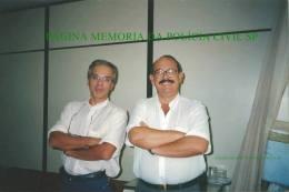 Investigadores de Polícia Afonsinho e Cipriano, desde a década de 70 no DEIC.