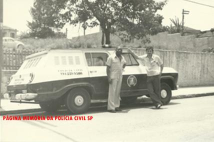 Viatura GM- Veraneio da antiga Divisão de Homicídios do DEIC, década de 70.