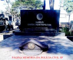 Mausoléu da Extinta Guarda Civil do Estado de São Paulo, hoje sobre os cuidados da Guarda Civil Metropolitana SP. (enviado pelo GCM Leandro Grabe).