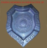 Cinzeiro da extinta Guarada Civil