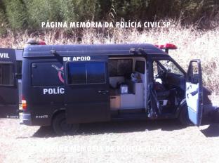 Viatura Unidade de Apoio do GARRA.