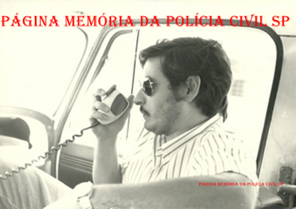 Investigador Luiz Melchiades Piacentini, na década de 70.