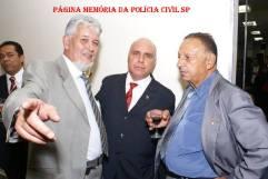 À partir da esquerda, Investigadores Jair Stirbulov, Jonas Filho e Zè Guarda (Optante da GC).