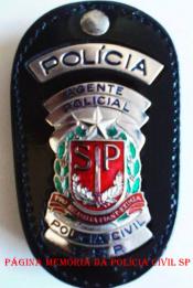 Distintivo de Agente Policial. (Enviado por Adalberto Junior)