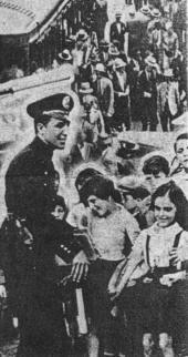 Policiamento de rua da extinta Guarda Civil, tinha ótima aceitação da população.