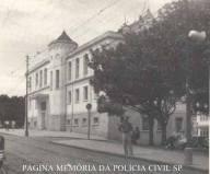 Delegacia de Polícia do Município de São Carlos, em 1.957.