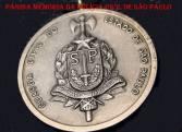 Medalha da extinta Guarda Civil do Estado de São Paulo.