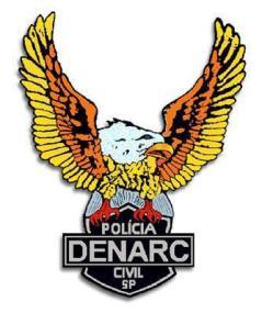 Dístico do Denarc.