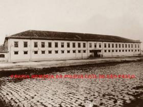 Hospício de Alienados no Parque D. Pedro ll, em 1.904, depois foi Quartel da Guarda Cívica (substituída pela Guarda Civil) e por último Quartel do 2º Batalhão de Guardas. Hoje o prédio encontra-se em mal estado de conservação.