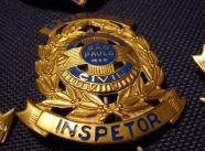 Distintivo de Inspetor da extinta Guarda Civil do Estado de São Paulo.