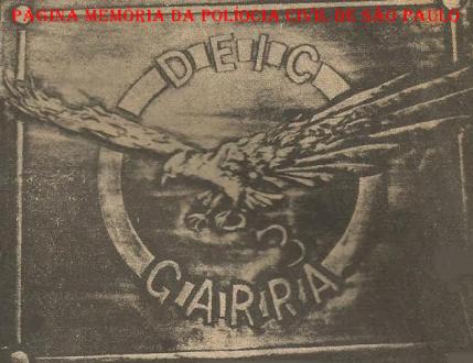 Placa do GARRA, usada como logotipo em antigas publicações na imprensa.