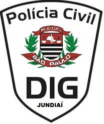 Dístico da DIG da Seccional de Jundiaí.