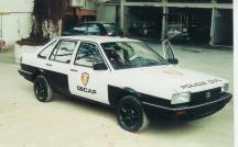 Viatura VW- Santana do DECAP, década de 90.