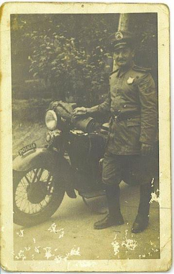 Guarda Civil Motociclista (anos 40).