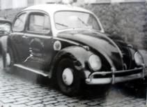 "Viatura VW Sedan ""Fusca"", década 60."