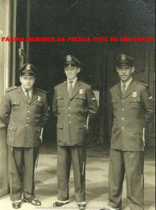 Integrantes da extinta Guarda Civil da Polícia do Estado de São Paulo, em 1.954.