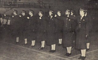Polícia Feminina (formatura da primeira turma, 1955).