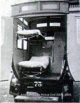 Ambulância da Polícia em 1.905.