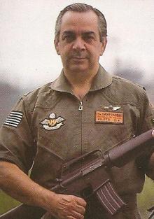 Delegado Supervisor do SAT, Ari Dantracoli, em 1987.
