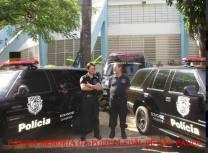 Delegados de Polícia que trabalharam na DISCCPAT- DEIC (Kilo), Maurício Lemos Freire e George Henry Millard, na década de 80. Na foto, em 2.008 respectivamente, Delegado Geral de Policia e Diretor do DEINTER 3.