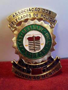 Distintivo de Honra ao Mérito concedido pela ADPESP.