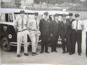 Guardas Civis em 1958.