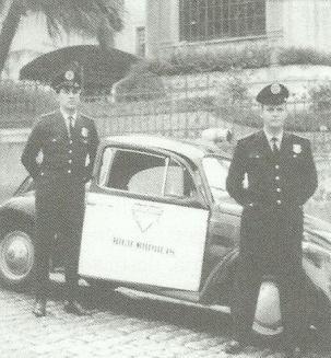 Guardas Civis da RP do bairro de Higienópolis, São Paulo.