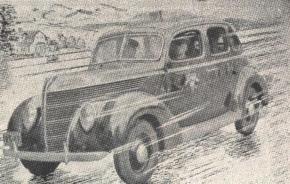Viatura da Rádio Patrulha, década de 40.