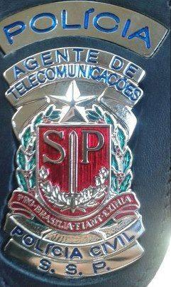 Distintivo de Agente de Telecomunicações.