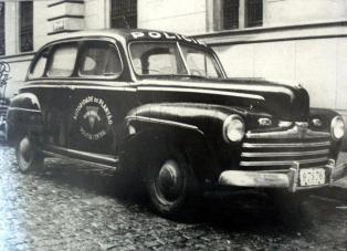 Viatura da Autoridade Policial, década de 50