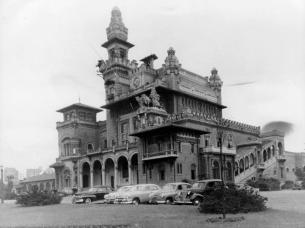Palácio das Indústrias do parque Dom Pedro I /SP.
