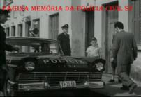 Viatura Ford Fairlane 1.957 da antiga Rádio Patrulha, em 1.959 adquiridos pelo Gov. Jânio Quadros, com integrantes da extinta Guarda Civil do Estado de São Paulo.