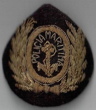 Emblema da antiga Polícia Marítima.