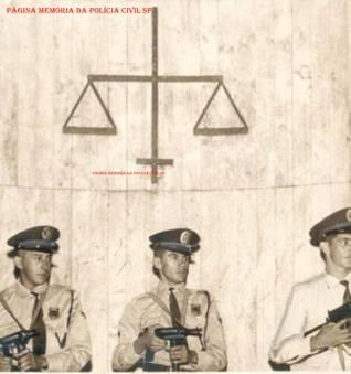 Integrantes da Divisão de Reserva da extinta Guarda Civil do Estado de São Paulo, em 1968. (Acervo do GCM Leandro Grabe).