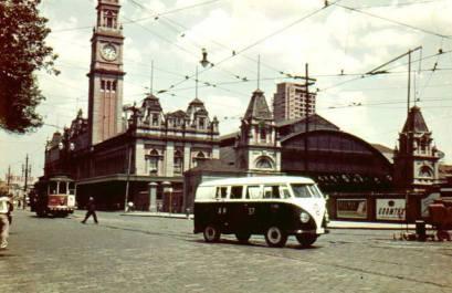 Viatura VW- Kombi, década de 60/70.
