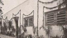 Depósito da Delegacia de Explosivos, na Rua Guaianazes, em 1944.