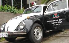 "Viatura VW- Sedan ""Fusca""."