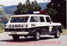 Viatura Veraneio do GARRA, nas décadas de 70 e 80.