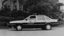 Viatura VW- Santana, década de 80.